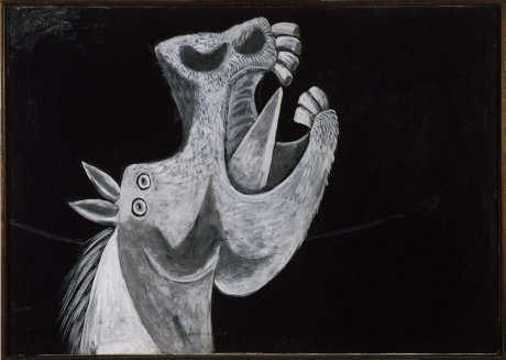 photo PICASSO, Study for Guernica (Head of horse).